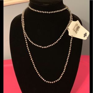 """Jewelry - NWT 60"""" long bead necklace"""